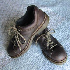 Vintage Low-Top Brown Dr. Martens